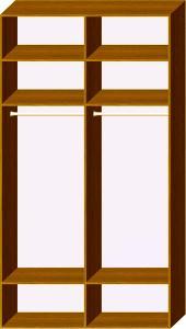 Схема 1 наповнення шафи