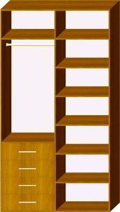 Схема 3 наповнення шафи