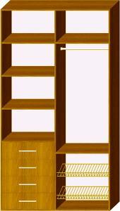 Схема 4 наповнення шафи