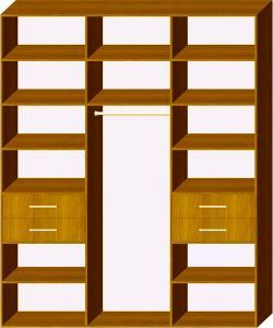 Схема 5 наповнення шафи