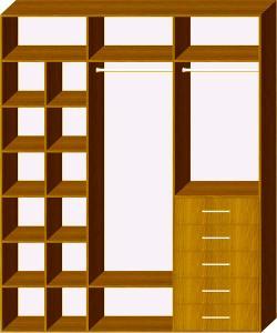 Схема 2 наповнення шафи